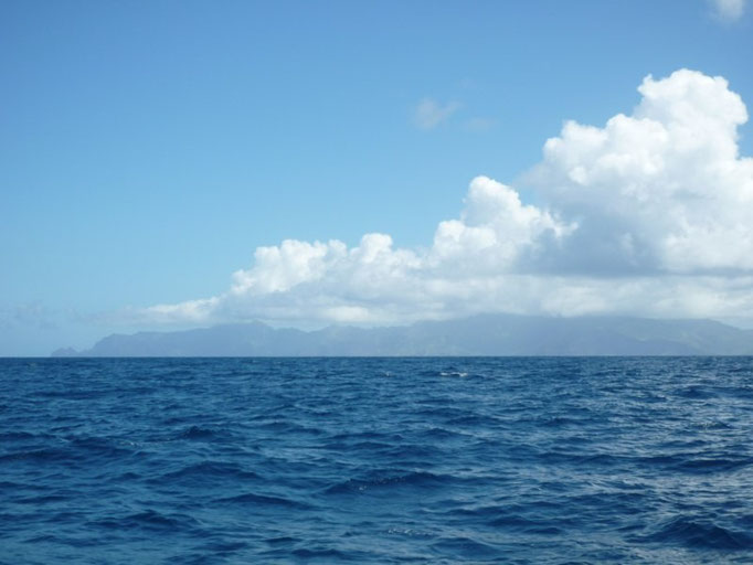 Navegando de Fatu Hiva a Hiva Oa
