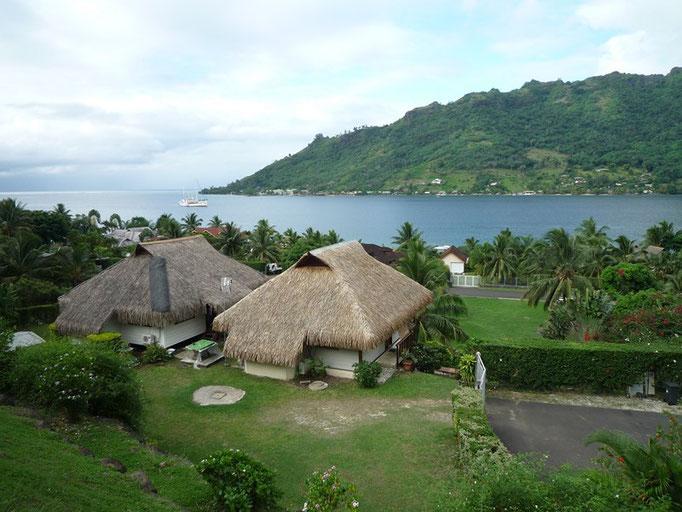 Vistas de la Bahía de Cook