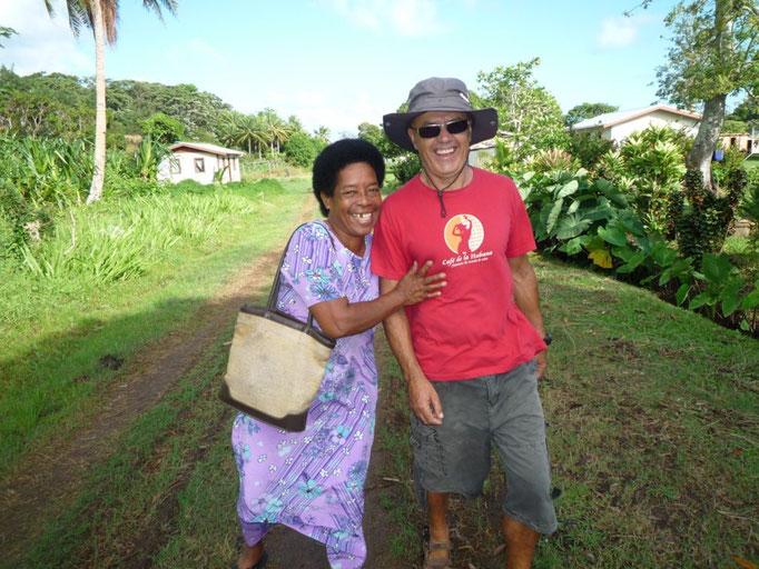 Nuestra amiga Biu en Malaka