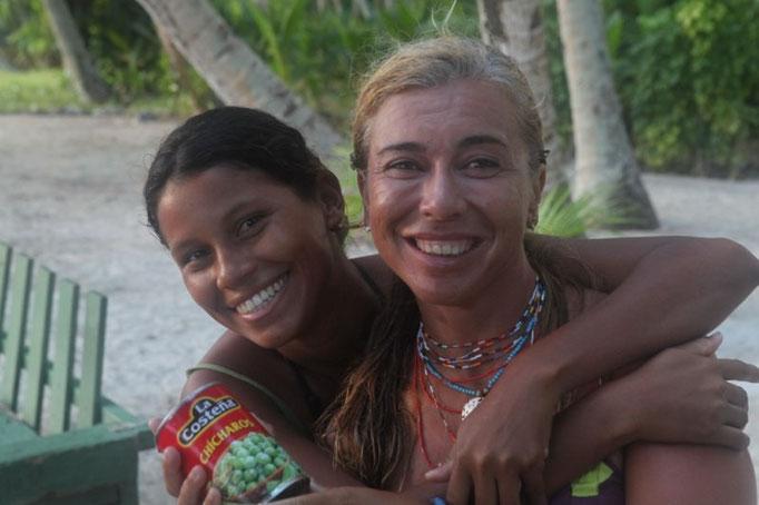 Zule con Mercedes