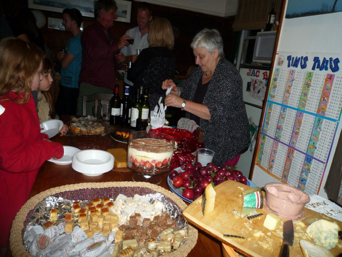 Nochebuena en casa de Julia, encuentro de españoles