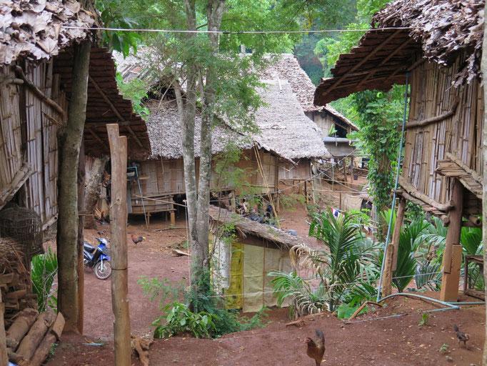 Aldea de las mujeres jirafas, Chiang Rai
