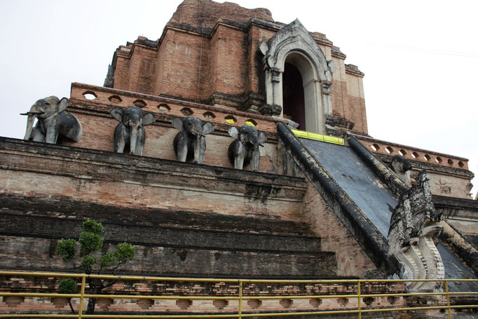 Chiang Mai, templo de Wat Chedi Luang