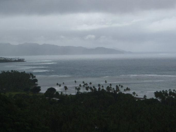 Vistas desde lo alto de Taveuni