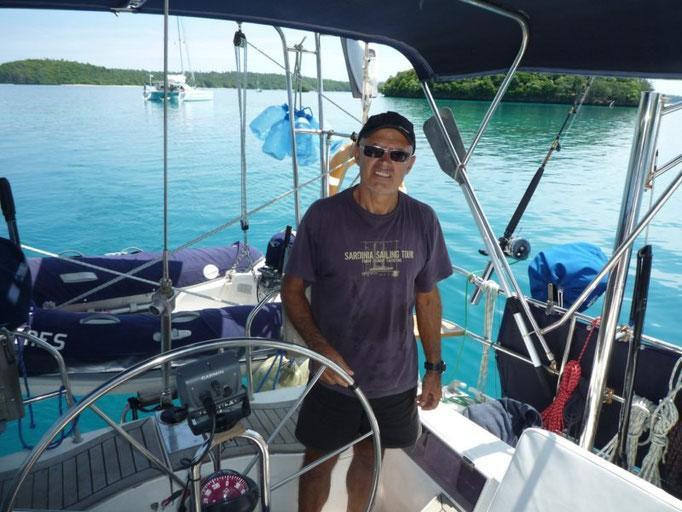 Navegando entre islas de Vavau