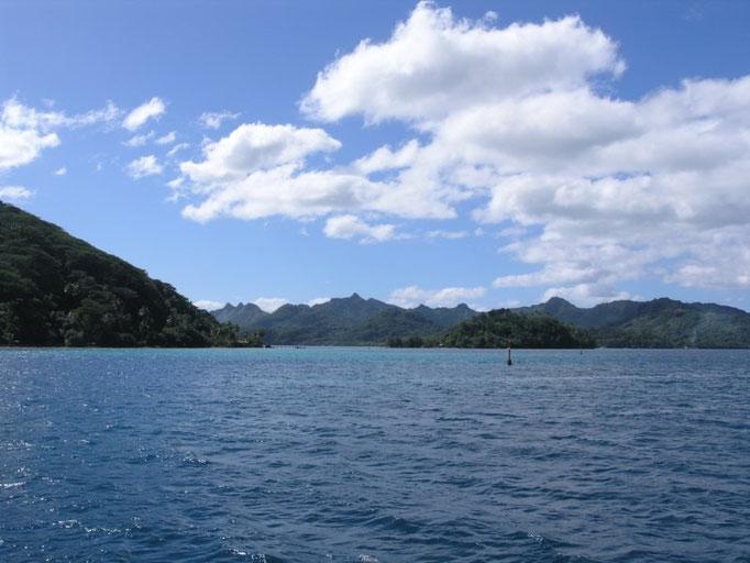 Port Bourayne desde afuera