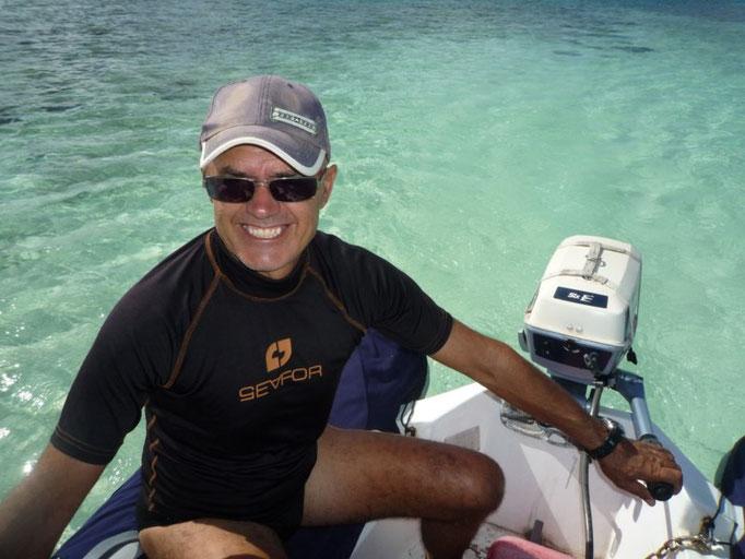 Acercamiento con el dinghy