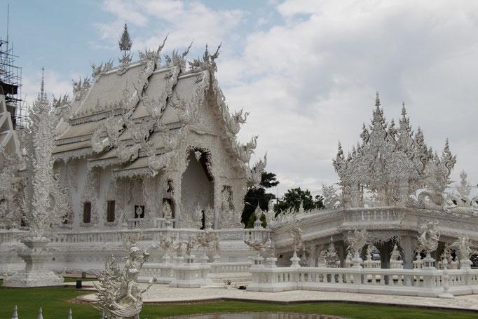 Chiang Rai, el Templo Blanco