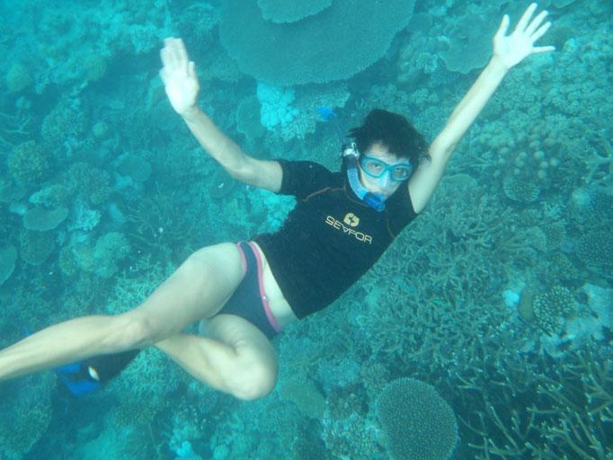 Snorkel en Rainbow Reef