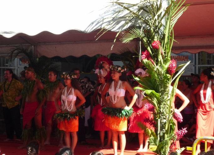 Danzas tradicionales polinesias