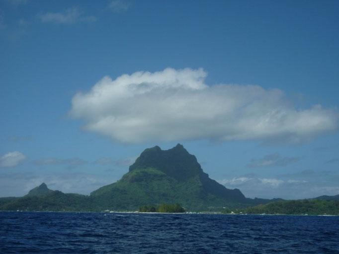 Arribo a Bora Bora