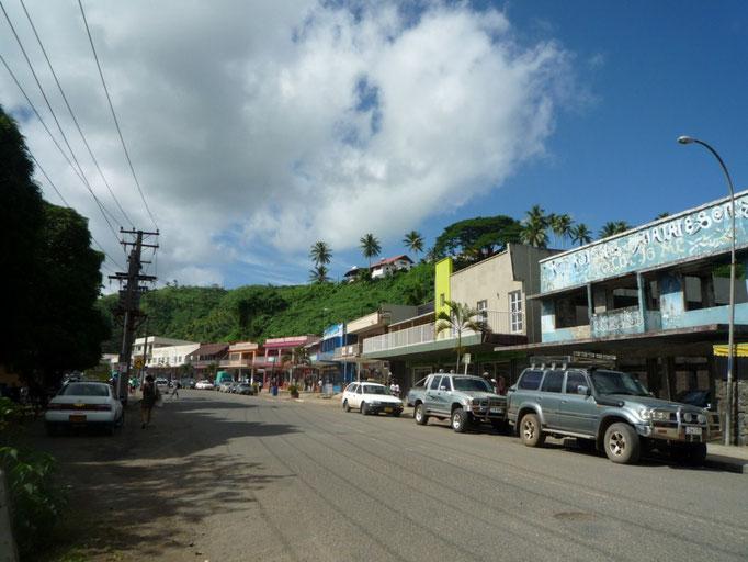 Calle principal de Savusavu
