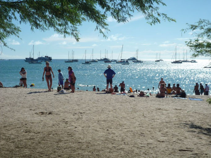 La gemte aprovecha para ir a Playa Mann el sábado