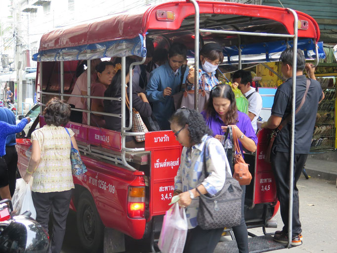 Bangkok, minibus
