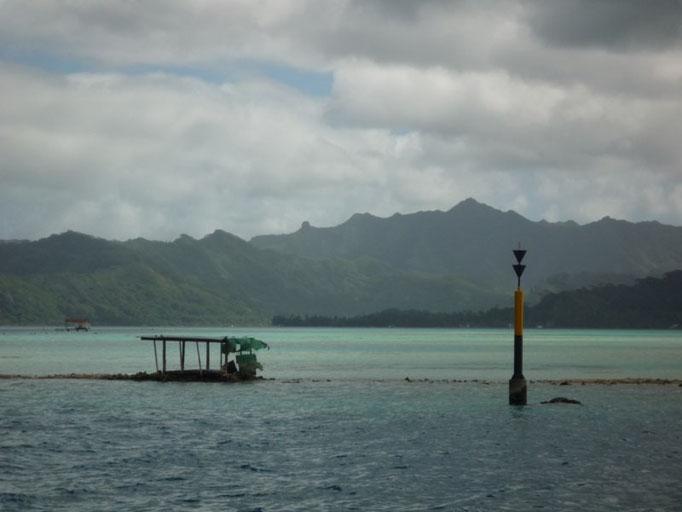 Navegando por el lagoon