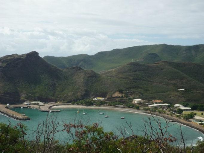 La bahía desde lo alto