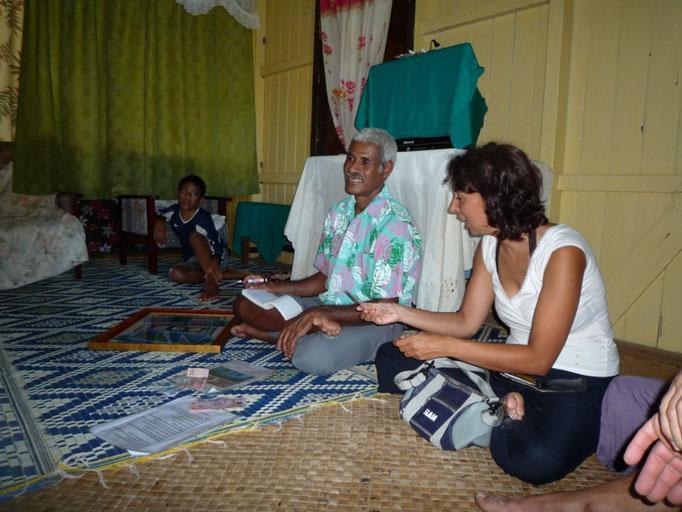 Sevu sevu, la ceremonia de presentación a la isla
