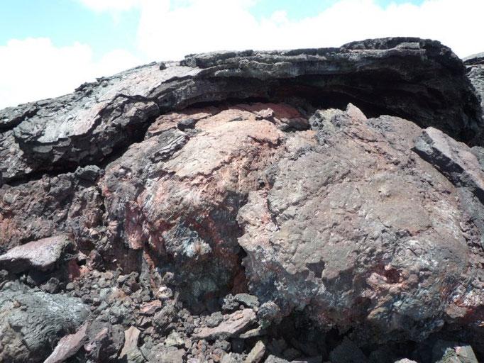 Formaciones de lava