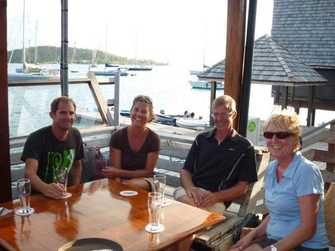Los canadienses del Picara y los holandeses del Fruit de Mer