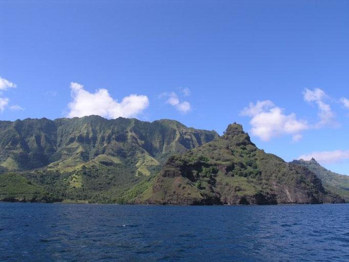 La fisonomía de la isla