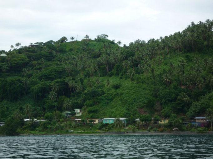 La costa de Vanua Levu