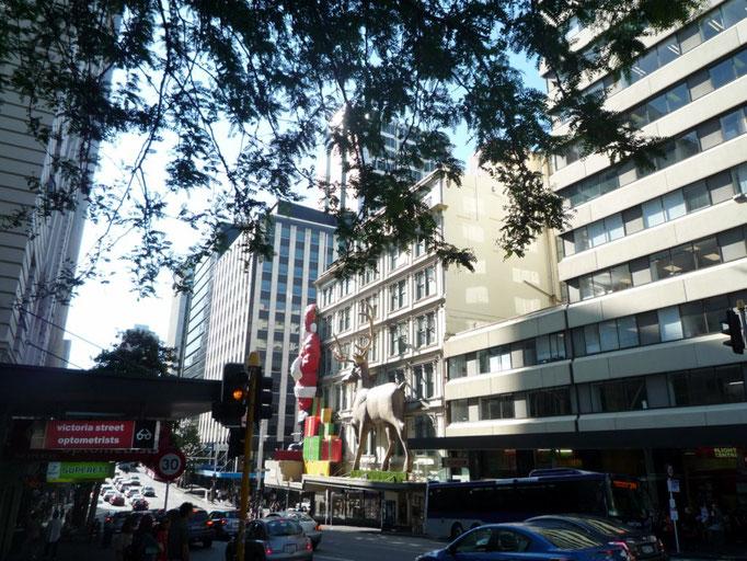 El centro de Auckland