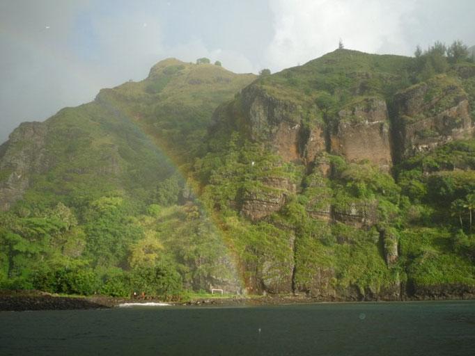Tras la lluvia... el arcoiris