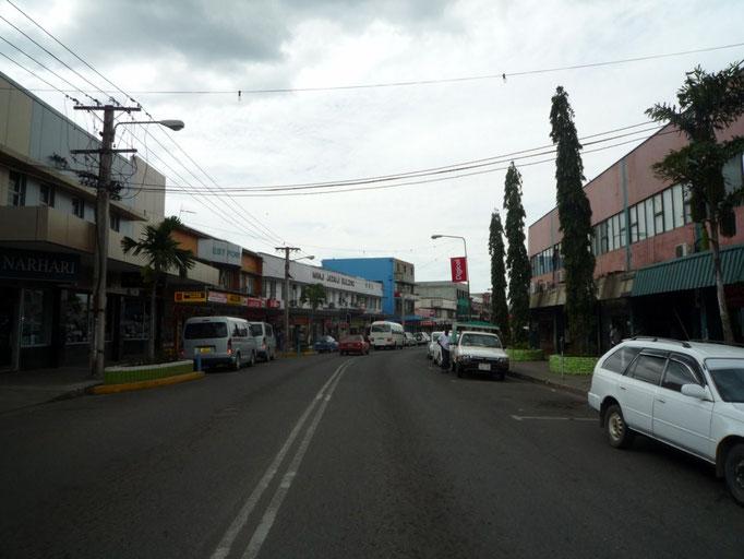 Calle principal de Nadi