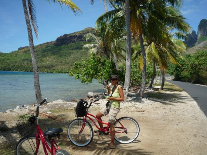 Vuelta a la isla en bicicleta