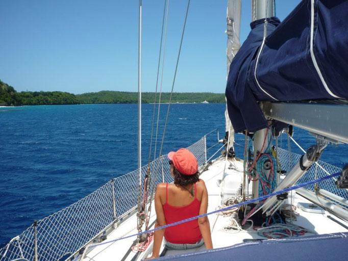 Navegando entre islas