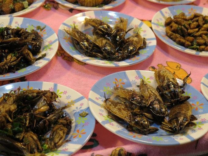 Plaza de comida de Chiang Rai