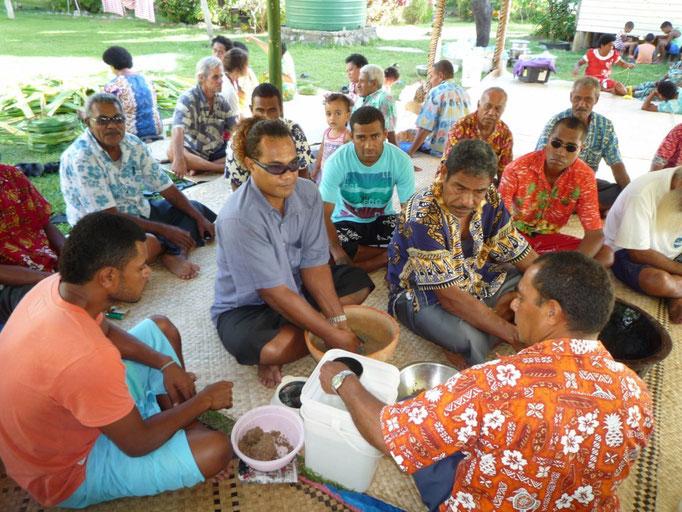 El Kava es la bebida típica de Fiji