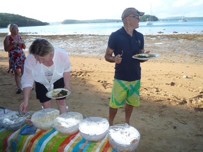 Tongan feast