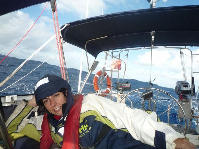 Navegando cuando el mal tiempo ya pasó
