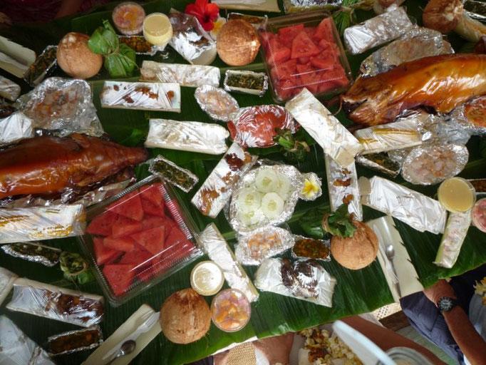 El ágape, menudo festín