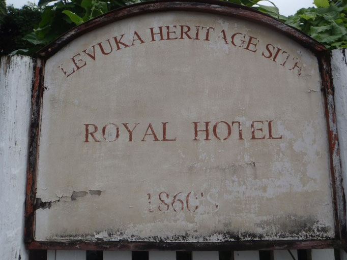 El hotel más antiguo de Fiji