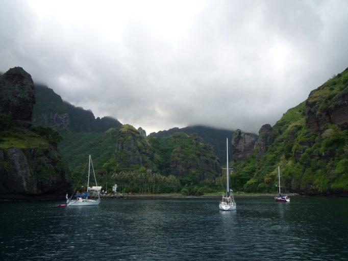 Hanavave o Bahía de las Vírgenes