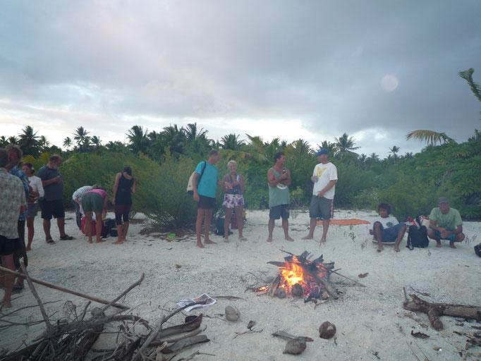 Barbacoa en la playa