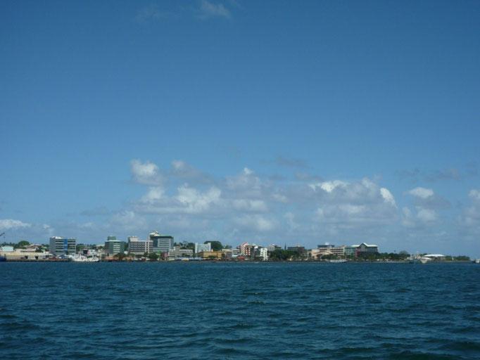 Suva desde el mar