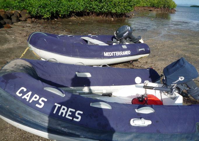 Los mini Caps Tres y Mediterraneo en Malaka