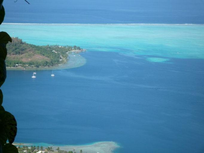 Vistas de Bora Bora