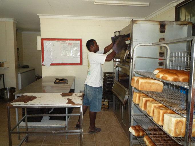La panadería en Loma Loma