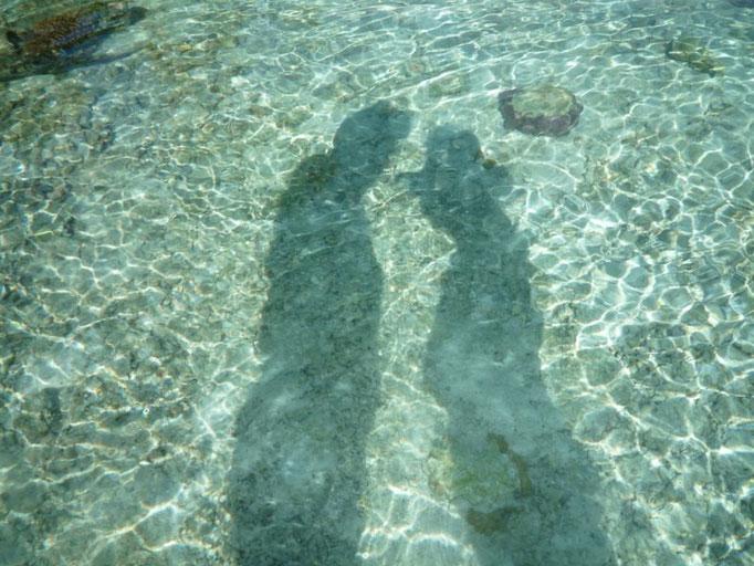 Reflejados en el mar