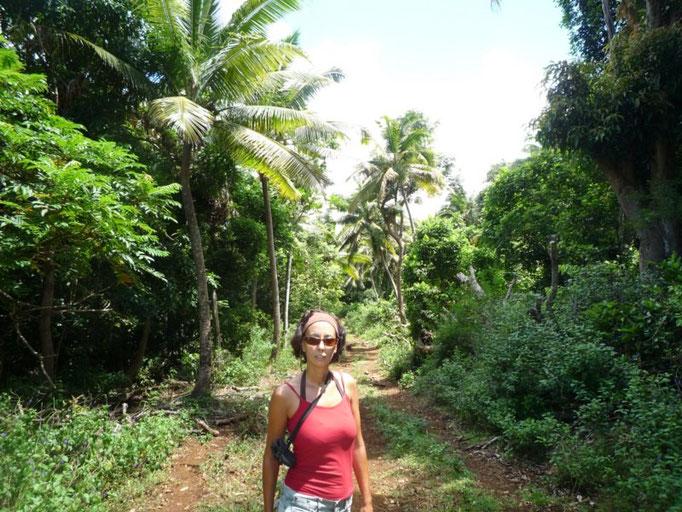 De excursión a uno de los pueblitos de Port Mourelle