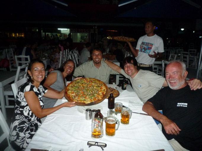 Pizza en Denarau