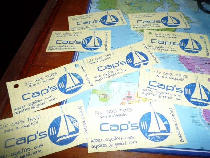 Nuestra factoría manual de tarjetas del barco