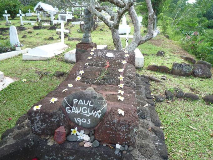 La tumba de Gauguin