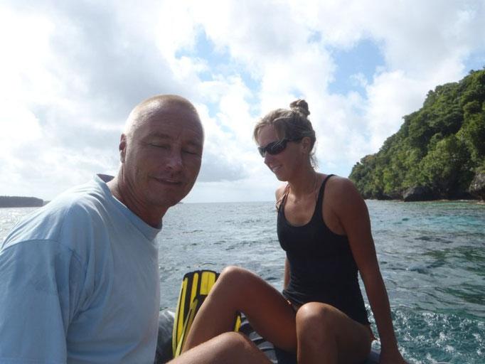 Vamos de excursión a la cuevas de Port Mourelle con Kari y Helena
