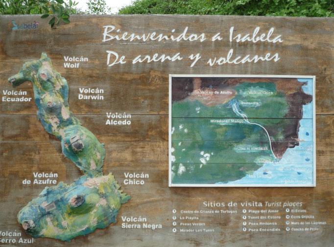Mapa de Isabela