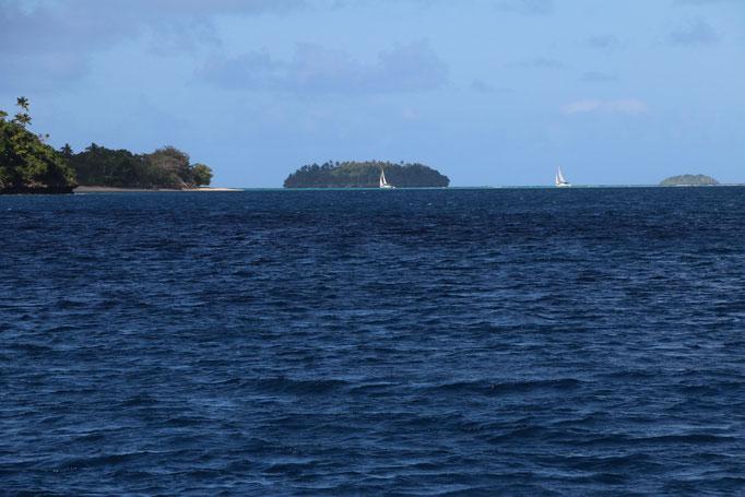 Navegando por las islas